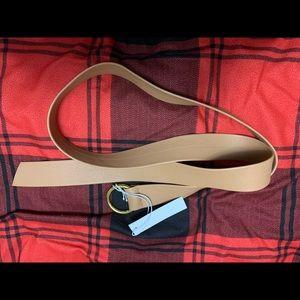 NWT below the belt tan belt